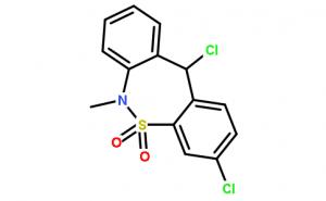 3,11-Dichloro-6-methyl-6,11-dihydrodibenzo[c,f][1,2]thiazepine 5,5-dioxide