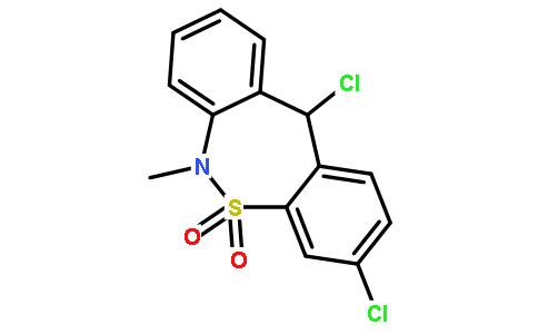 3,11-Dichloro-6-methyl-6,11-dihydrodibenzo[c,f][1,2]thiazepine 5,5-dioxide Featured Image