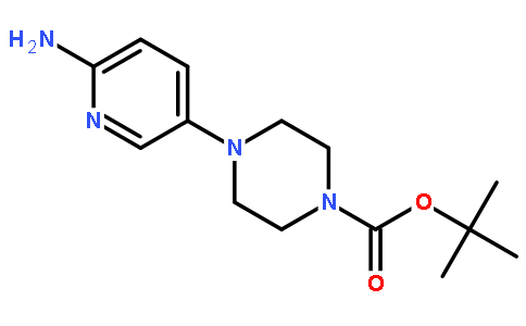4-(6-Aminopyridin-3-yl)piperazine-1-carboxylic acid tert-butyl ester Featured Image