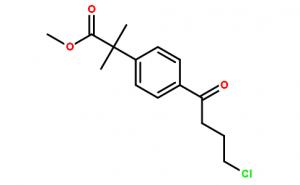 Methyl-4-(4-Chloro-1-Oxobutyl)-α,α-Dimethyl-Phenylacetate