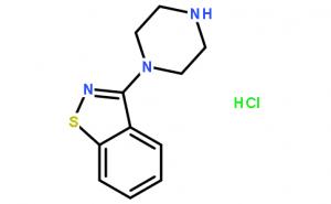 3-(1-Piperazinyl)-1.2-benzisothiazole hydrochloride