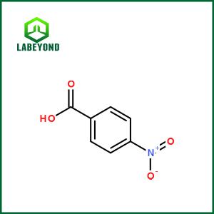 l'acide p-nitrobenzoïque