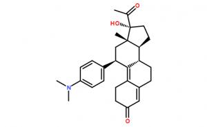 11β-[4-(N,N-diMethylaMino)-phenyl]-17α-hydroxy-19-norpregna-4,9-diene-3,20-dione
