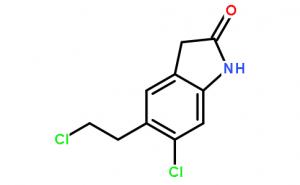 5-(2-chloroethyl)-6-chloro-1,3-dihydro-2H-indole-2-one