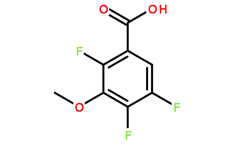 2,4,5-Trifluoro-3-Methoxy Benzoic Acid Featured Image
