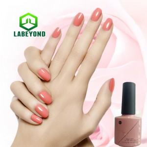 Solid color UV/LED gel polish