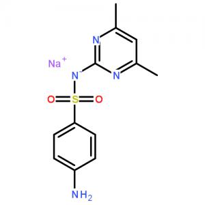 Sulfametazina sodio